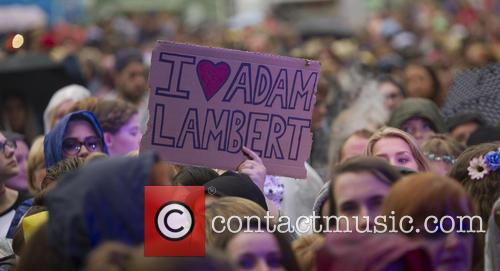 Adam Lambert at fusion festival