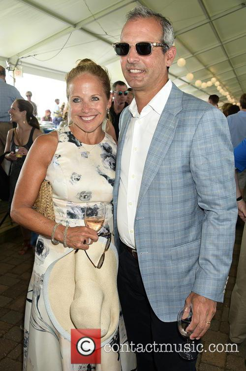 Katie Couric and Husband John Molner 1