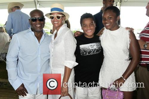 L.a. Reid, Erica Reid and Children 1