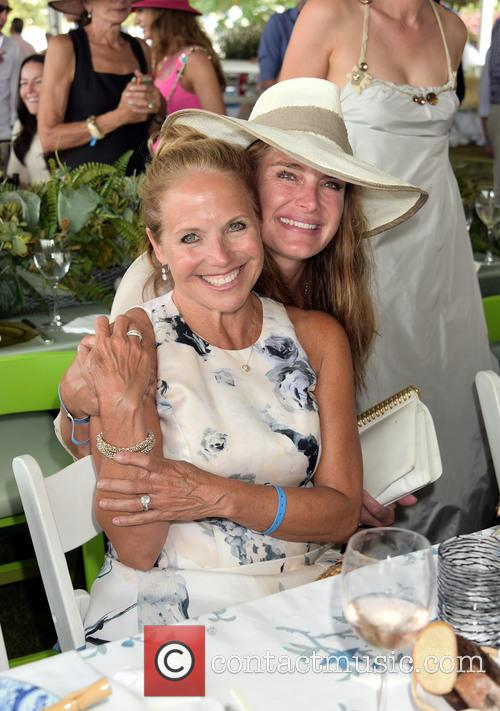 Katie Couric and Brooke Shields 1