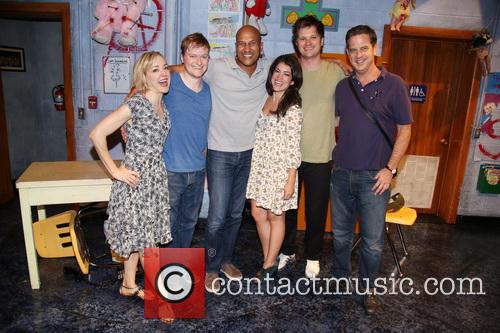 Geneva Carr, Steven Boyer, Keegan-michael Key, Sarah Stiles, Michael Oberholtzer and Beau Baxter 2