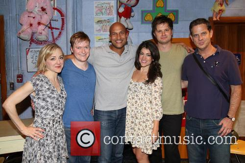 Geneva Carr, Steven Boyer, Keegan-michael Key, Sarah Stiles, Michael Oberholtzer and Beau Baxter 1