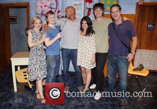 Geneva Carr, Steven Boyer, Tyrone The Demonic Puppet, Keegan-michael Key, Sarah Stiles, Michael Oberholtzer and Beau Baxter 2