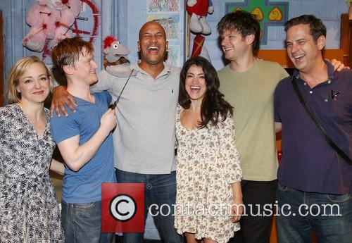 Geneva Carr, Steven Boyer, Tyrone The Demonic Puppet, Keegan-michael Key, Sarah Stiles, Michael Oberholtzer and Beau Baxter 3
