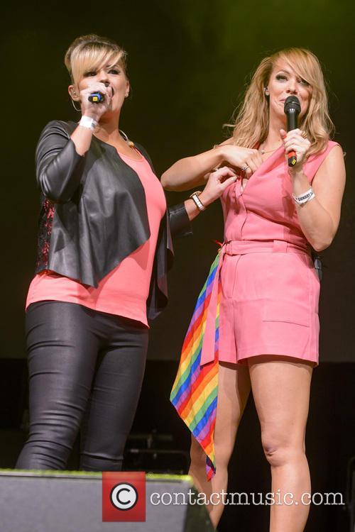 Kerry Katona and Liz Mcclarnon 5