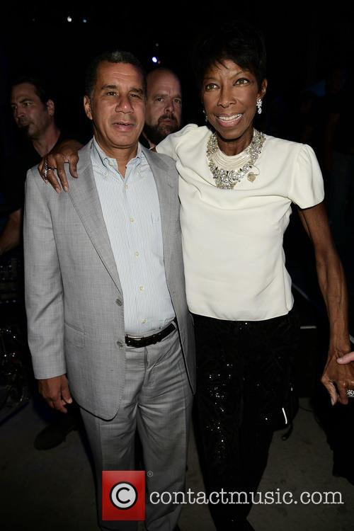 David Patterson and Natalie Cole