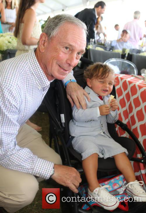 Michael Bloomberg and J Asper Bloomberg 1