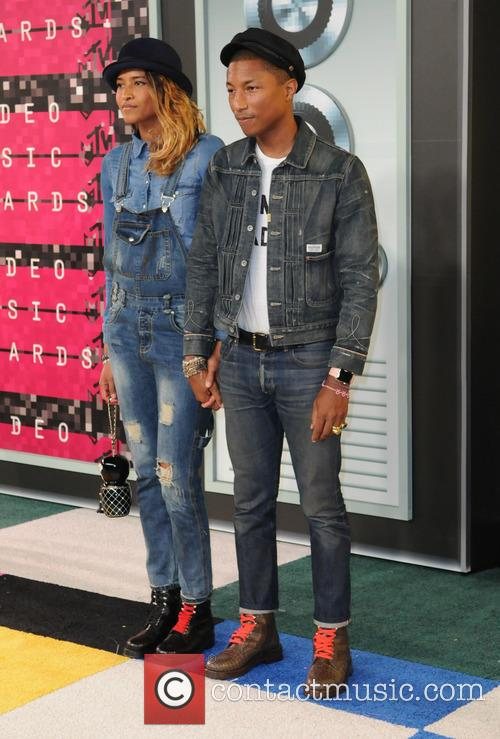 Helen Lasichanh and Pharrell Williams 1