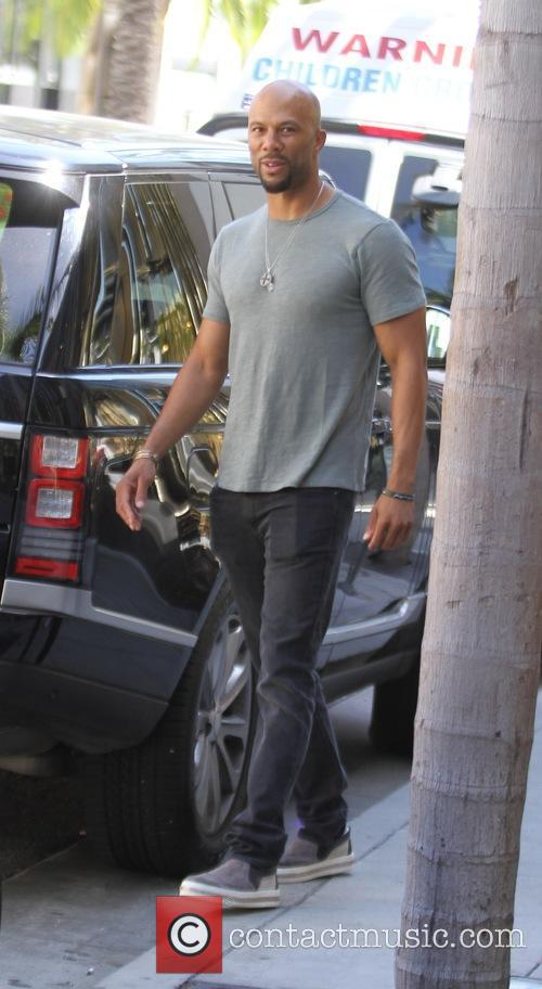 Common out in Beverly Hills