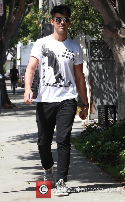 Joe Jonas out in West Hollywood