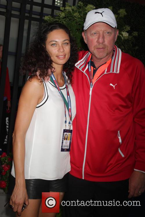 Boris Becker and Wife Lilly 1