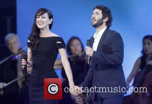 Josh Groban and Lena Hall 1