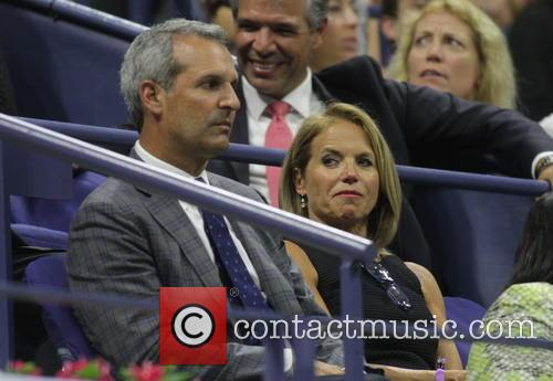 Katie Couric and John Molner 1