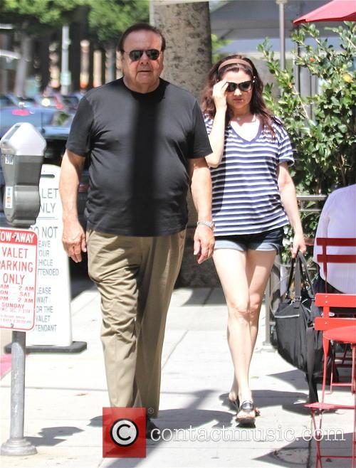 Paul Sorvino and wife out in Beverly Hills