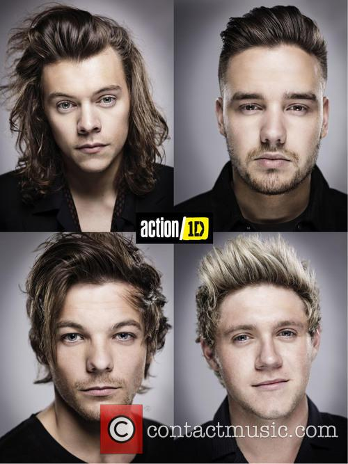 Harry Styles, Liam Payne, Louis Tomlinson and Niall Horan