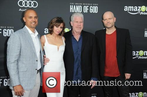 Ben Watkins, Guest, Ron Perlman and Marc Forster 2