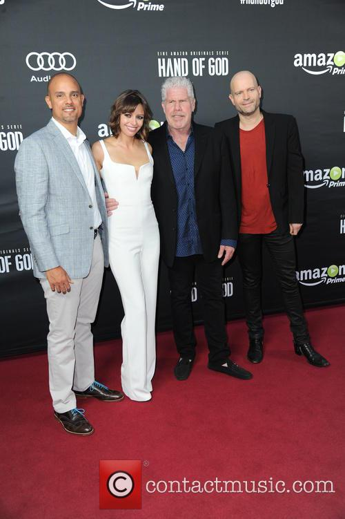 Ben Watkins, Guest, Ron Perlman and Marc Forster 4