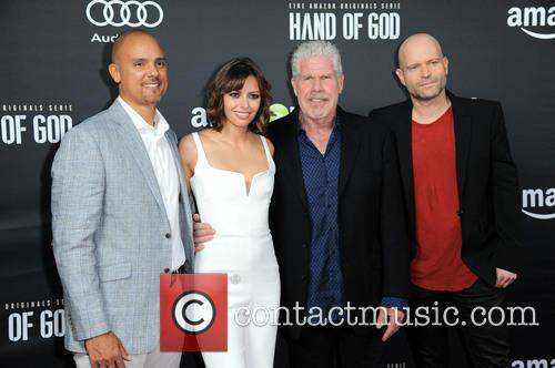 Ben Watkins, Guest, Ron Perlman and Marc Forster 1