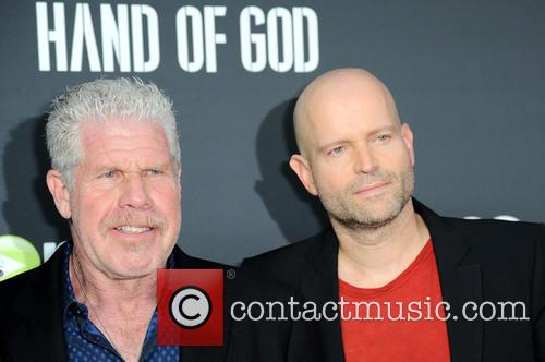Ron Perlman and Marc Forster 1