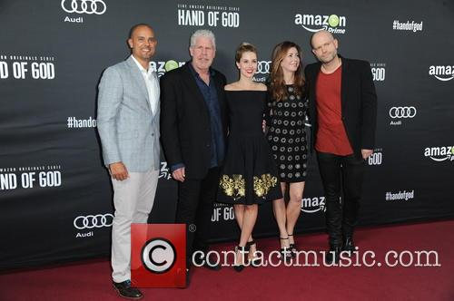Ben Watkins, Ron Perlman, Alona Tal, Dana Delany and Marc Forster 2