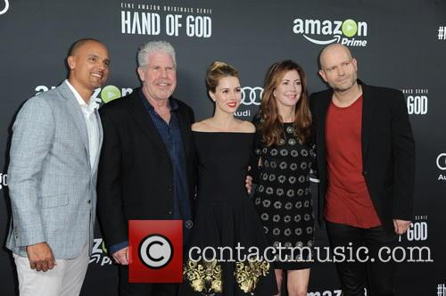 Ben Watkins, Ron Perlman, Alona Tal, Dana Delany and Marc Forster 1