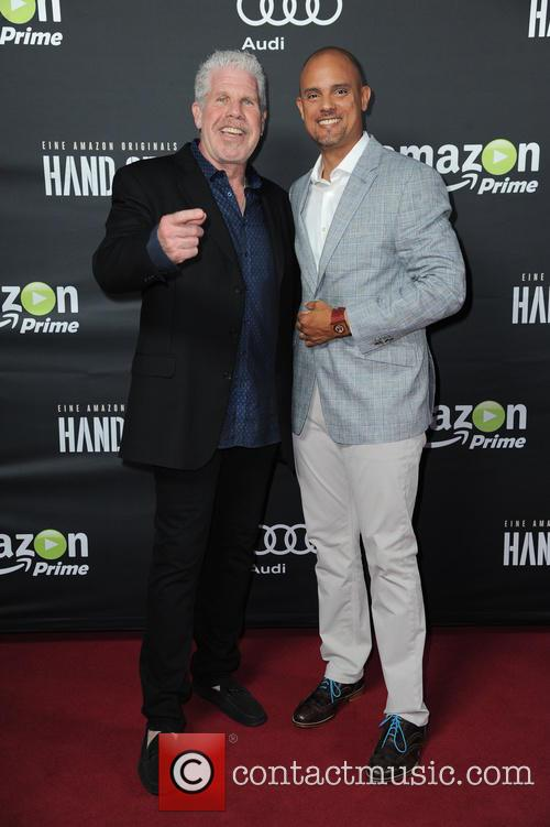 Ron Perlman and Ben Watkins 3