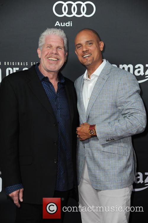 Ron Perlman and Ben Watkins 1