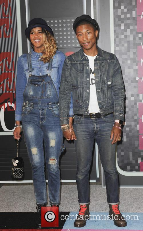 Helen Lasichant and Pharrell Williams 1