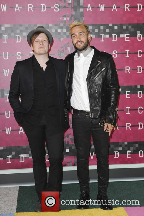 Patrick Stump and Pete Wentz 1