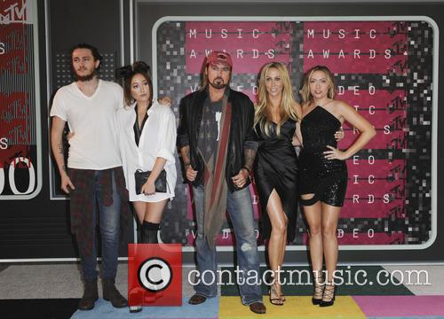 Braison Cyrus, Tish Cyrus, Noah Cyrus, Billy Ray Cyrus and Brandi Glenn Cyrus 2