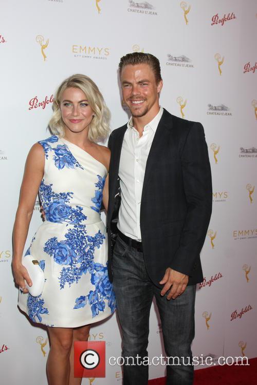 Julianne Hough and Derek Hough 2