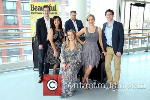 Carole King, Liam Tobin, Suzanne Grodner, Curt Bouril, Abby Mueller, Becky Gulsvig and Ben Fankhauser 1