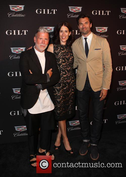 Nick Wooster, Michelle Peluso and Keith George 1