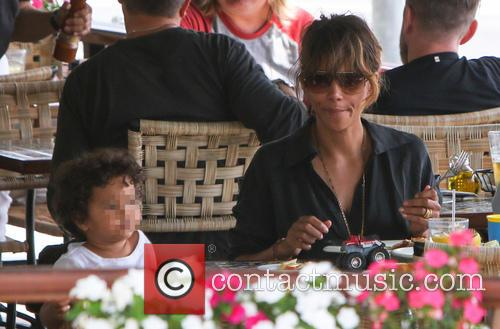 Halle Berry and Maceo Martinez 1