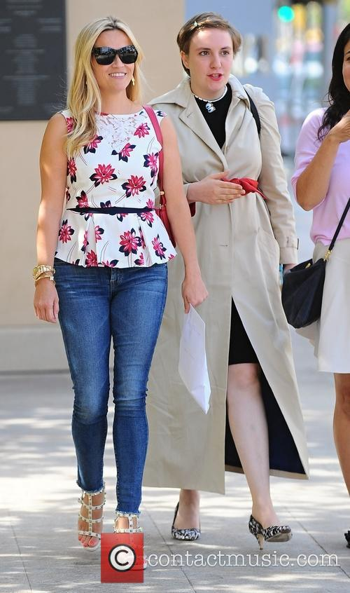 Reese Witherspoon and Lena Dunham 2