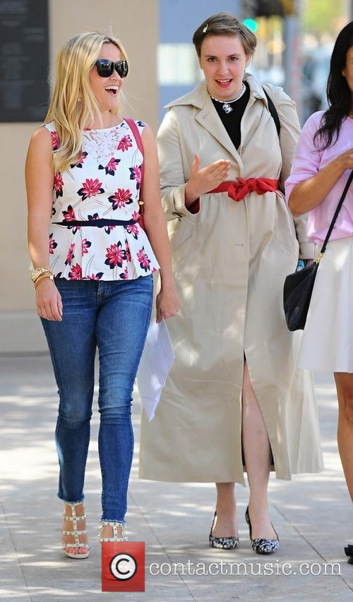 Reese Witherspoon and Lena Dunham 5