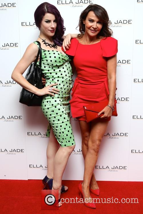 Jasz Vegas and Lizzie Cundy 1