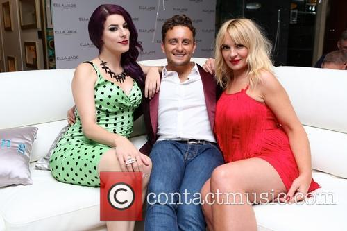 Jasz Vegas, Johny Pach and Kierston Wareing 1