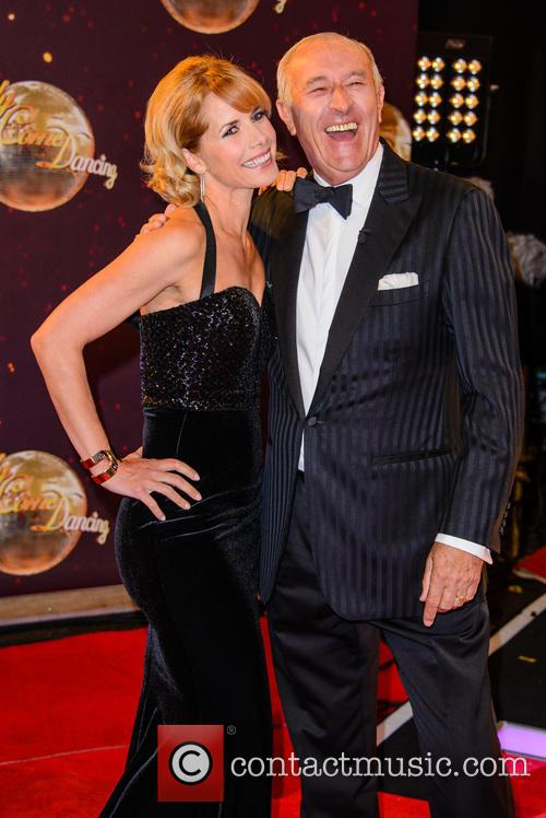Darcey Bussell and Len Goodman 4