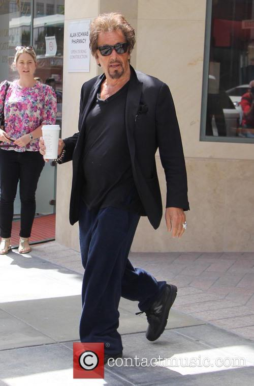 Al Pacino out in Beverly Hills