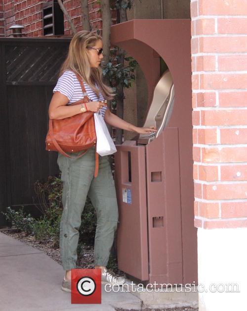 Elizabeth Berkley out in Beverly Hills