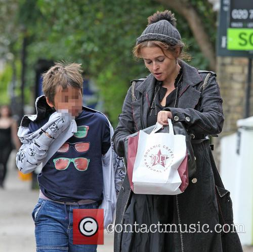 Helena Bonham Carter and Billy Raymond Burton 3