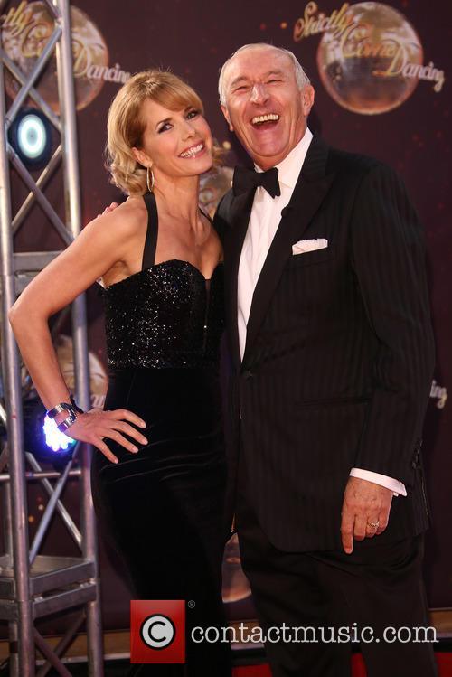 Darcey Bussell and Len Goodman 4