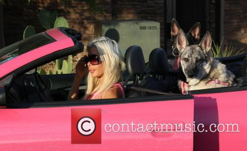 Angelique 'Frenchy' Morgan takes her dogs to the...