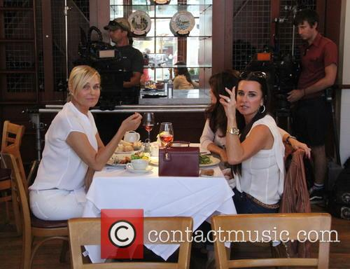 Yolanda Foster, Kim Richards and Lisa Vanderpump 4