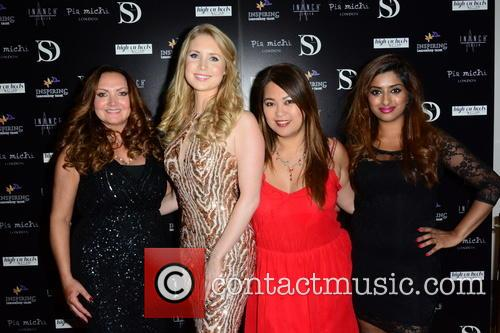 Leigh Travers, Gemma Morris, Vanessa Horca and Guest 1