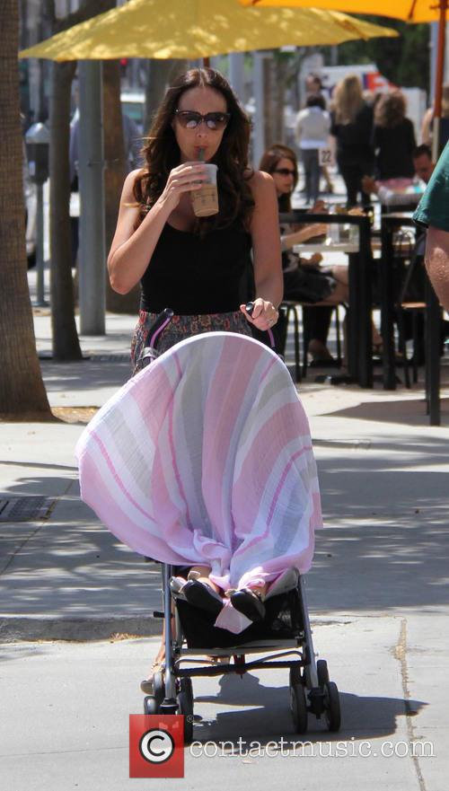 Tamara Ecclestone out and about with her daughter...