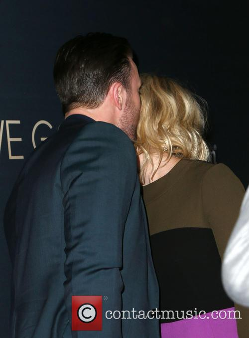 Chris Evans and Alice Eve 2