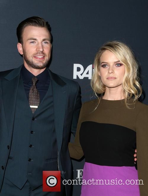 Chris Evans and Alice Eve 6