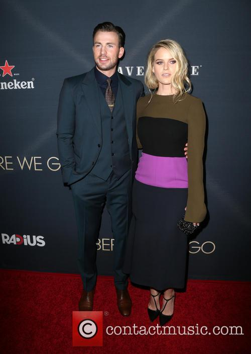 Chris Evans and Alice Eve 9